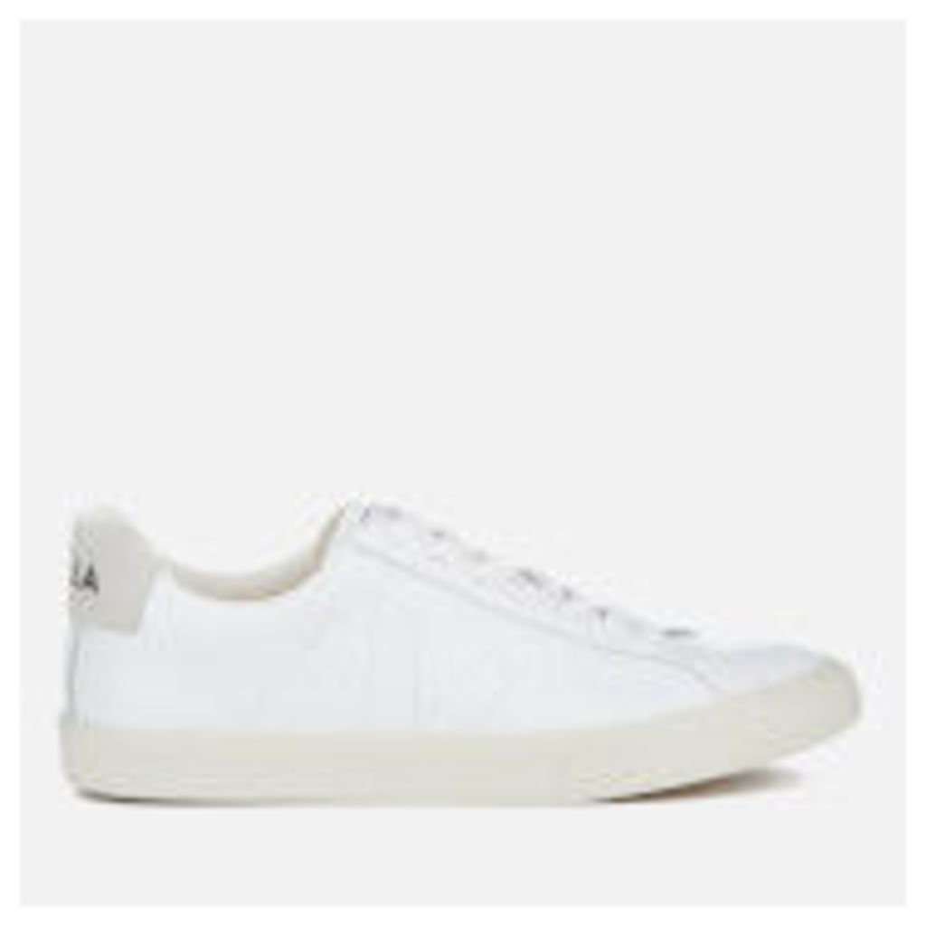 Veja Women's Esplar Low Leather Trainers - Extra White
