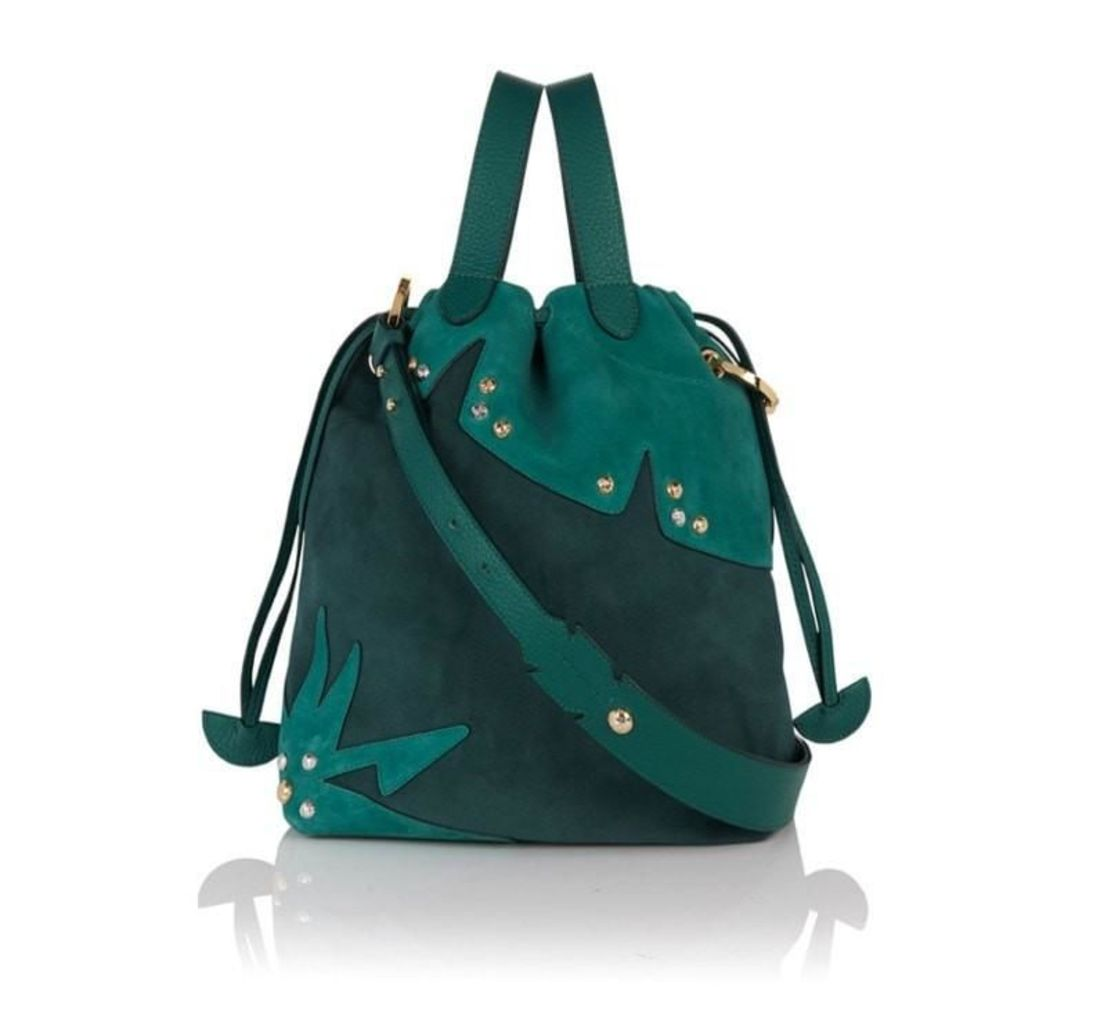 Hazel Tote Bag Forest Green