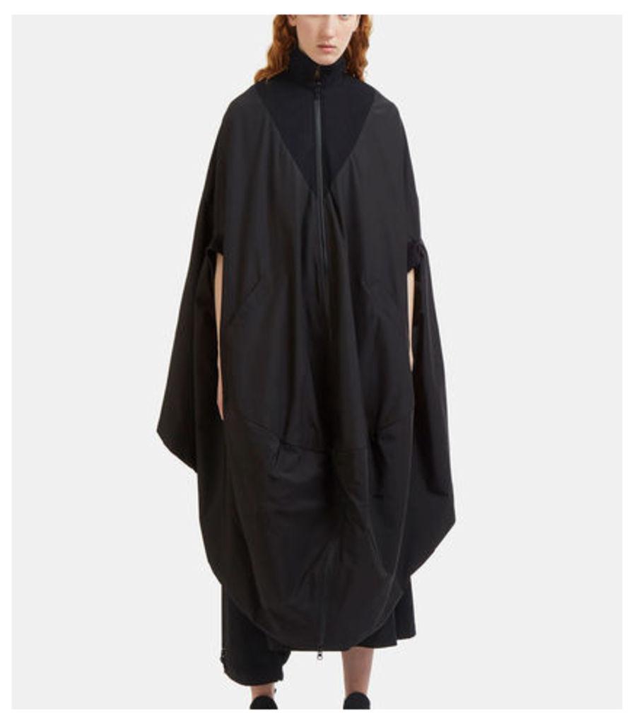 Novelty Oversized Reversible Poncho Coat