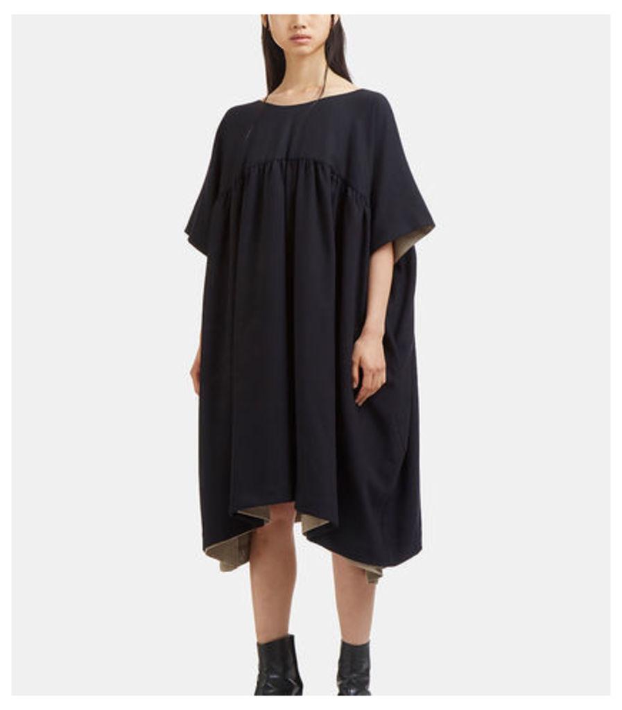 Oversized Double-Layered Dress
