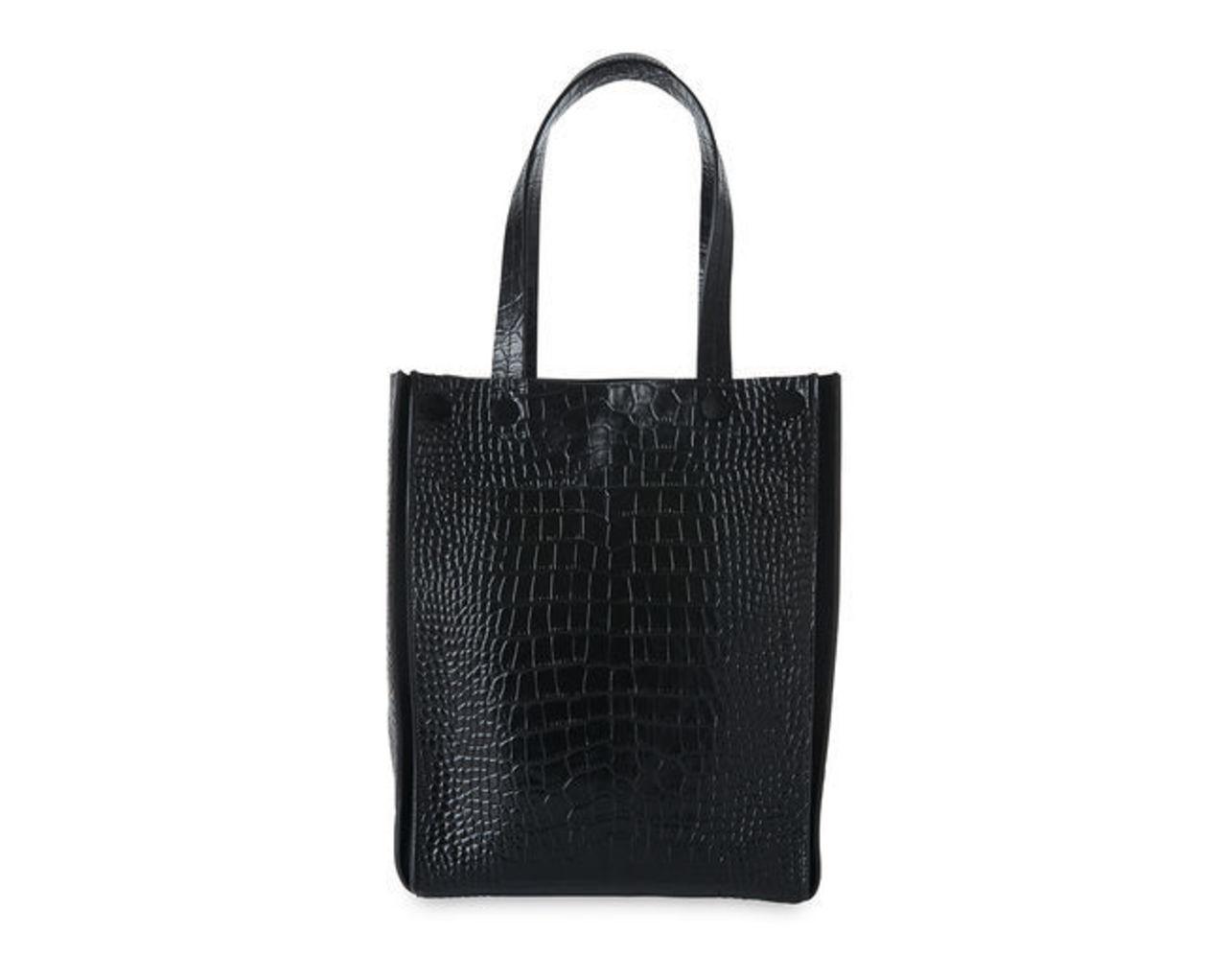 Croc Suede Mix Tote Bag