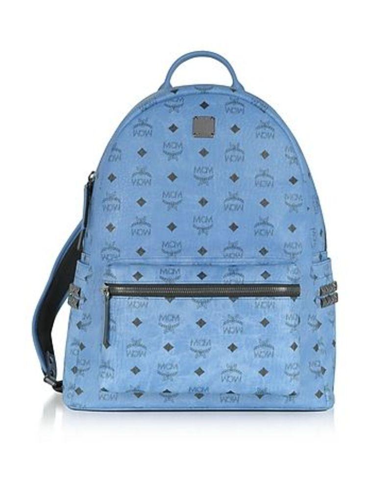 MCM - Denim Medium Stark Backpack