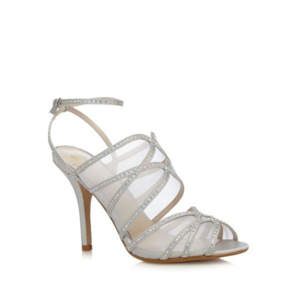 No. 1 Jenny Packham Silver Pearl High Sandals From Debenhams 5