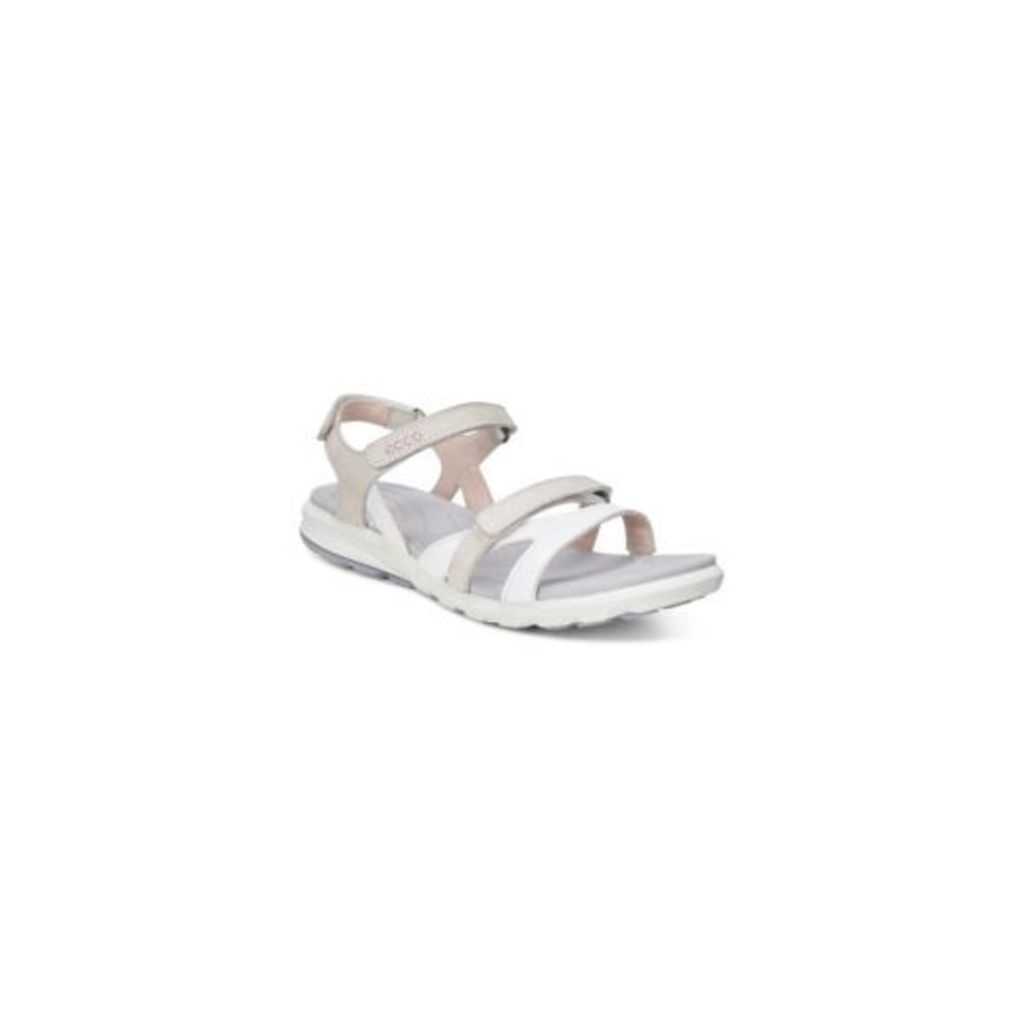 Ecco White Cruise Flat Sandals From Debenhams 6