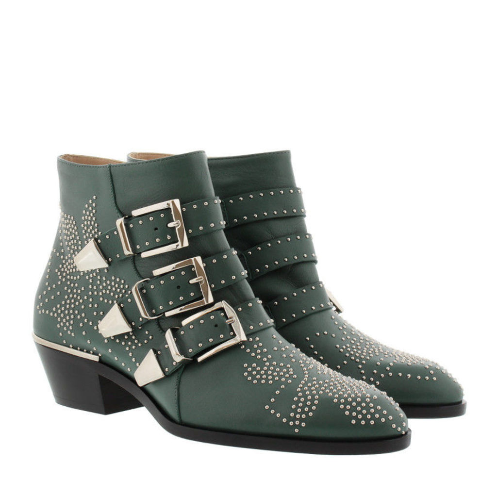 Chloé Boots & Booties - Susanna Nappa Boots Jasper Green - in green - Boots & Booties for ladies