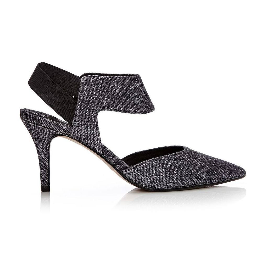 Moda in Pelle Carmona Pewter High Occasion Shoes