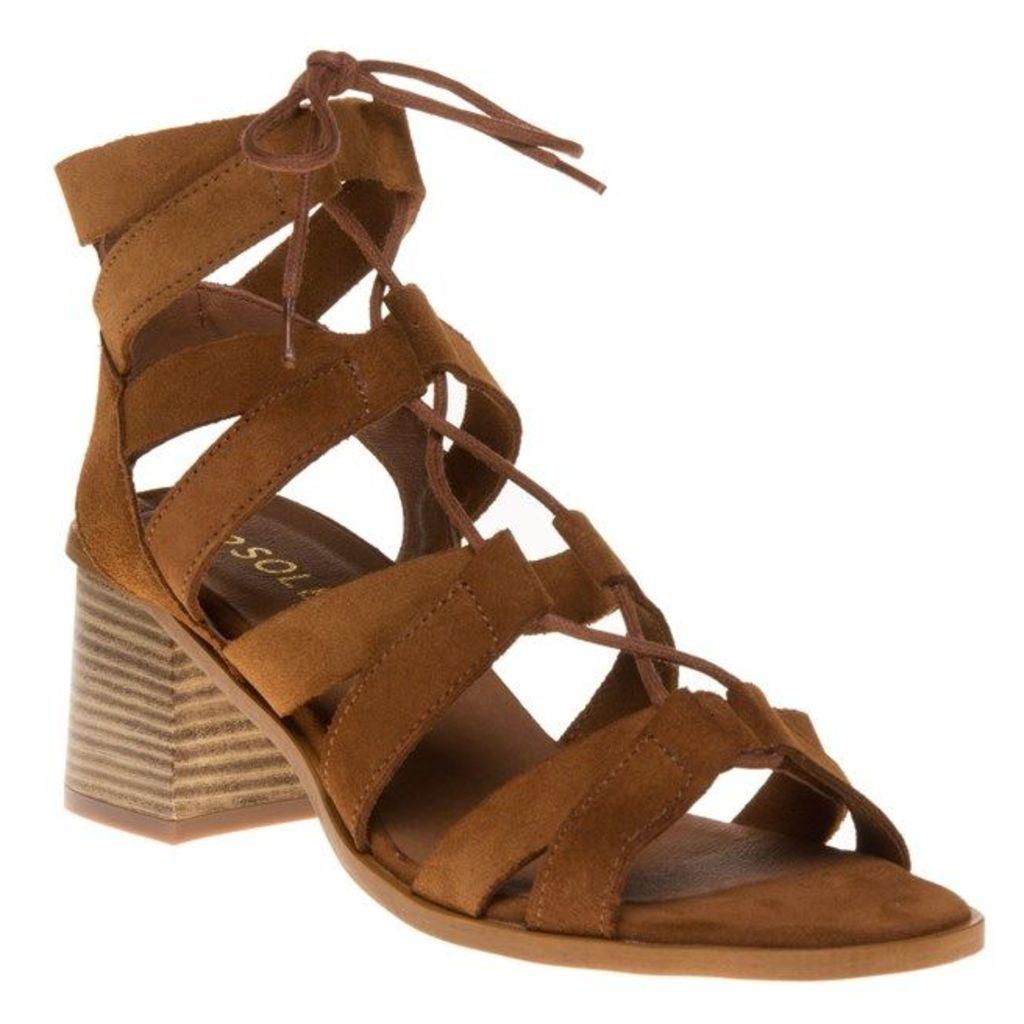 SOLE Philo Sandals, Tan