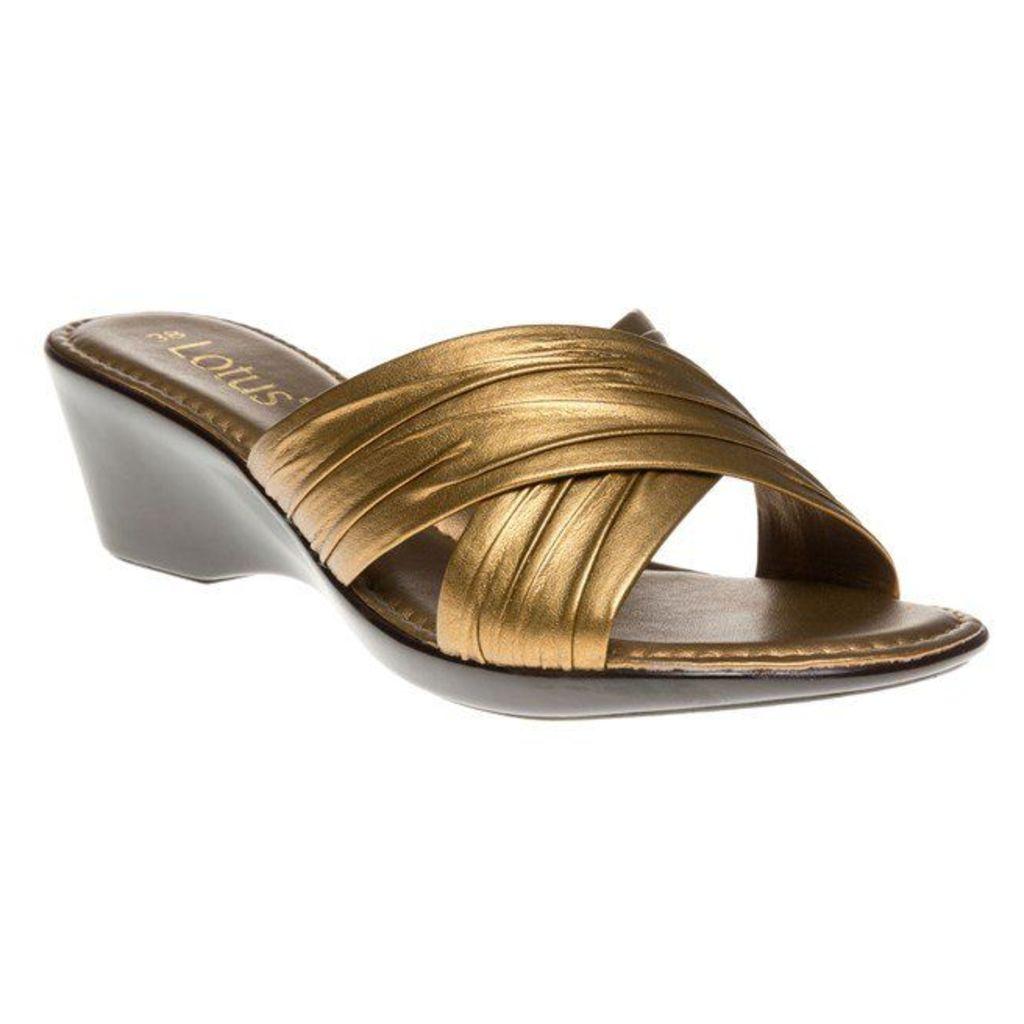 Lotus Mercia Sandals, Bronze