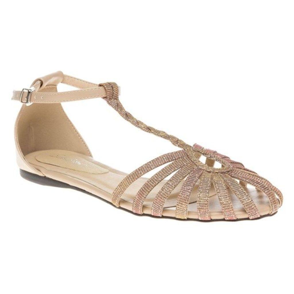 SOLE Salt Sandals, Coral