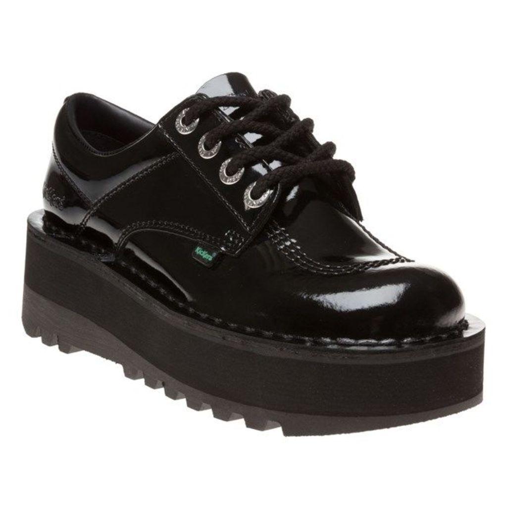 Kickers Kick Lo Stack Shoes, Black