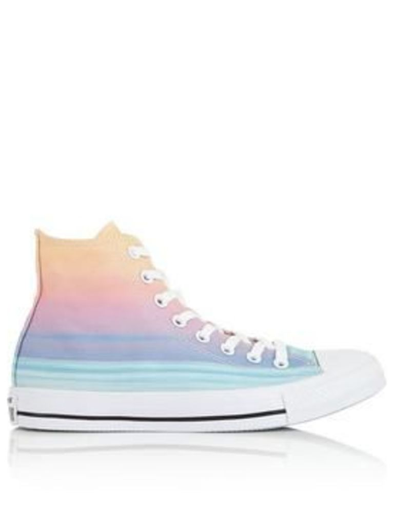 Converse Chuck Taylor All Star High Sunset Stripe Trainers - Multi