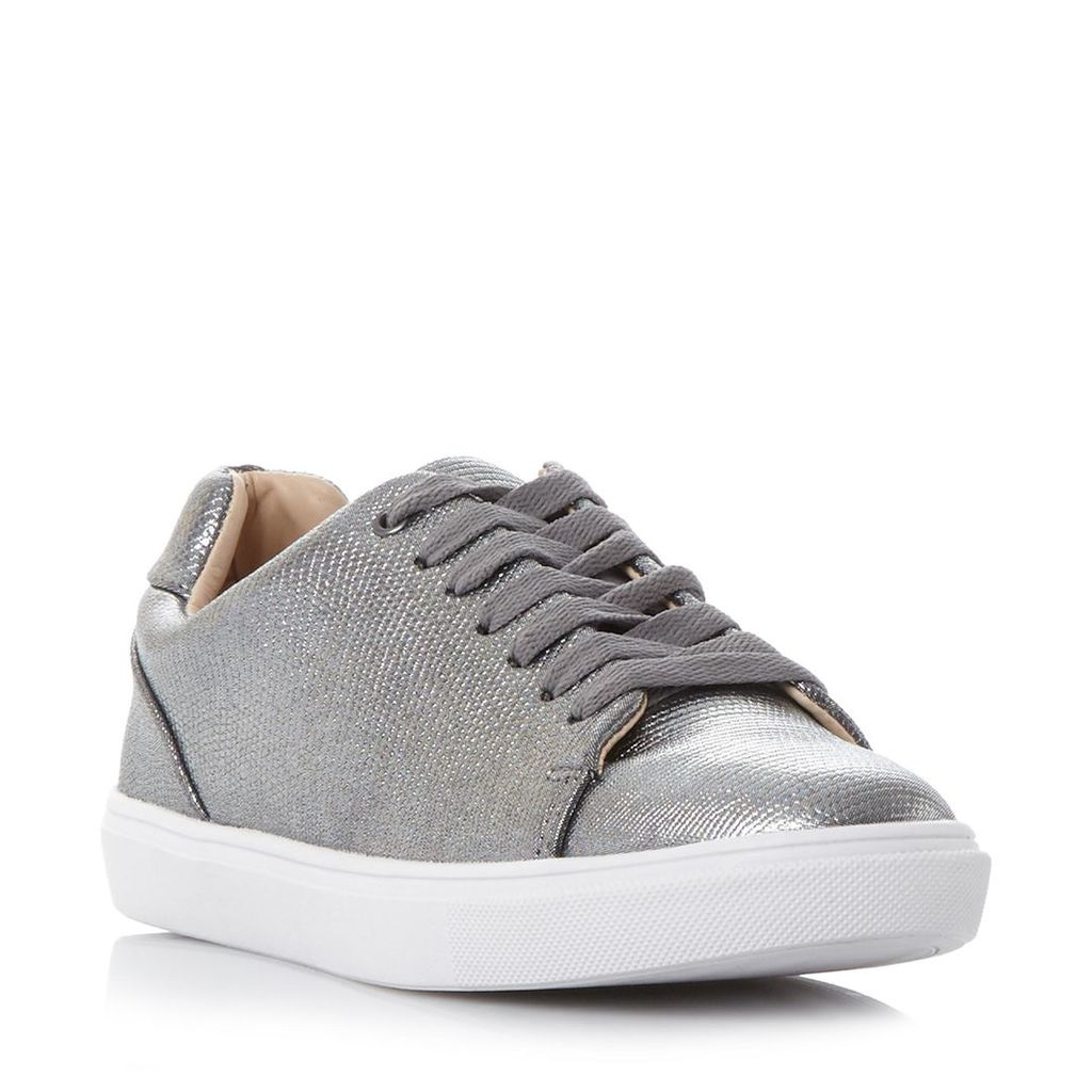 Ebeline Textured Lace Up Trainer