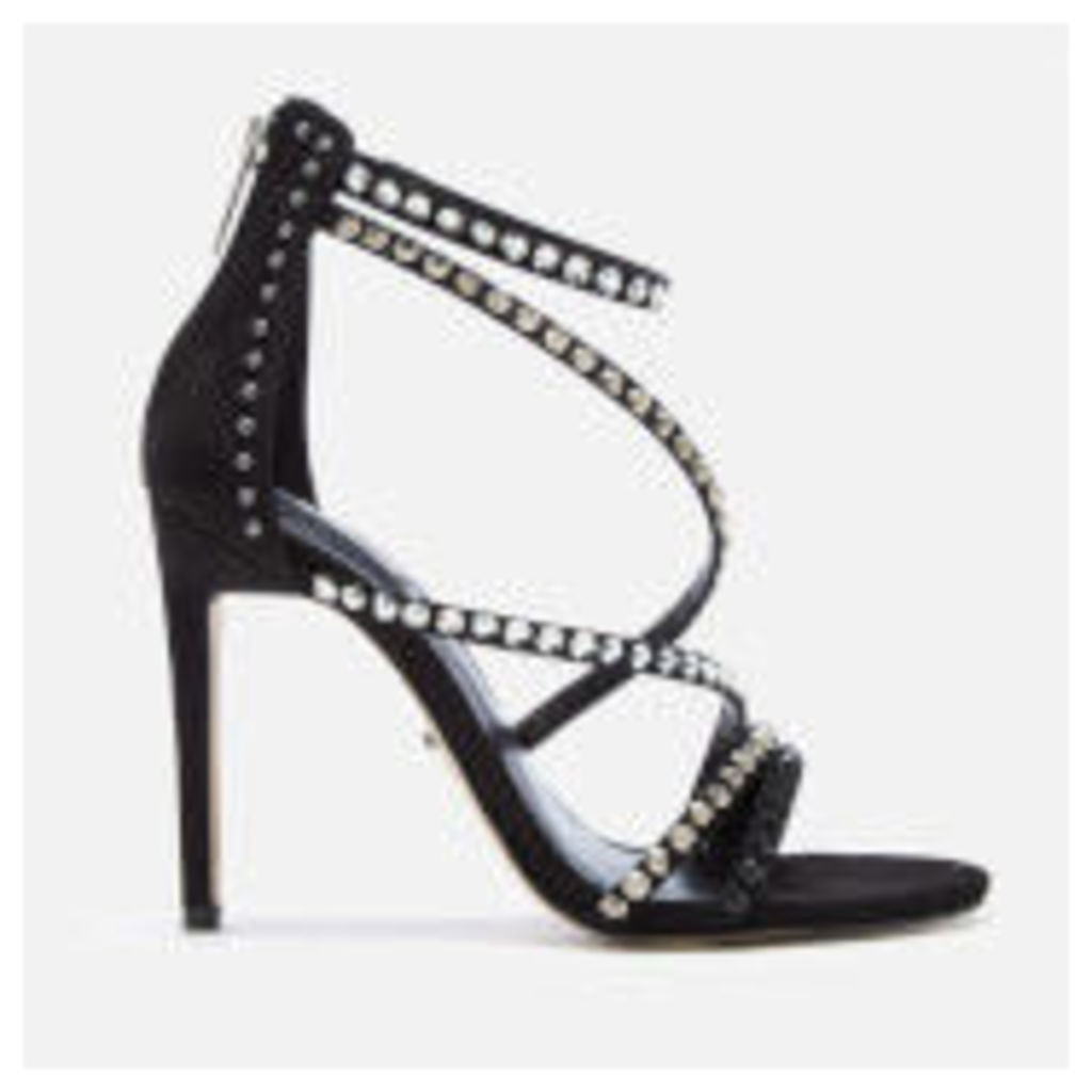 Carvela Women's Grass Embellished Strappy Heeled Sandals - Black