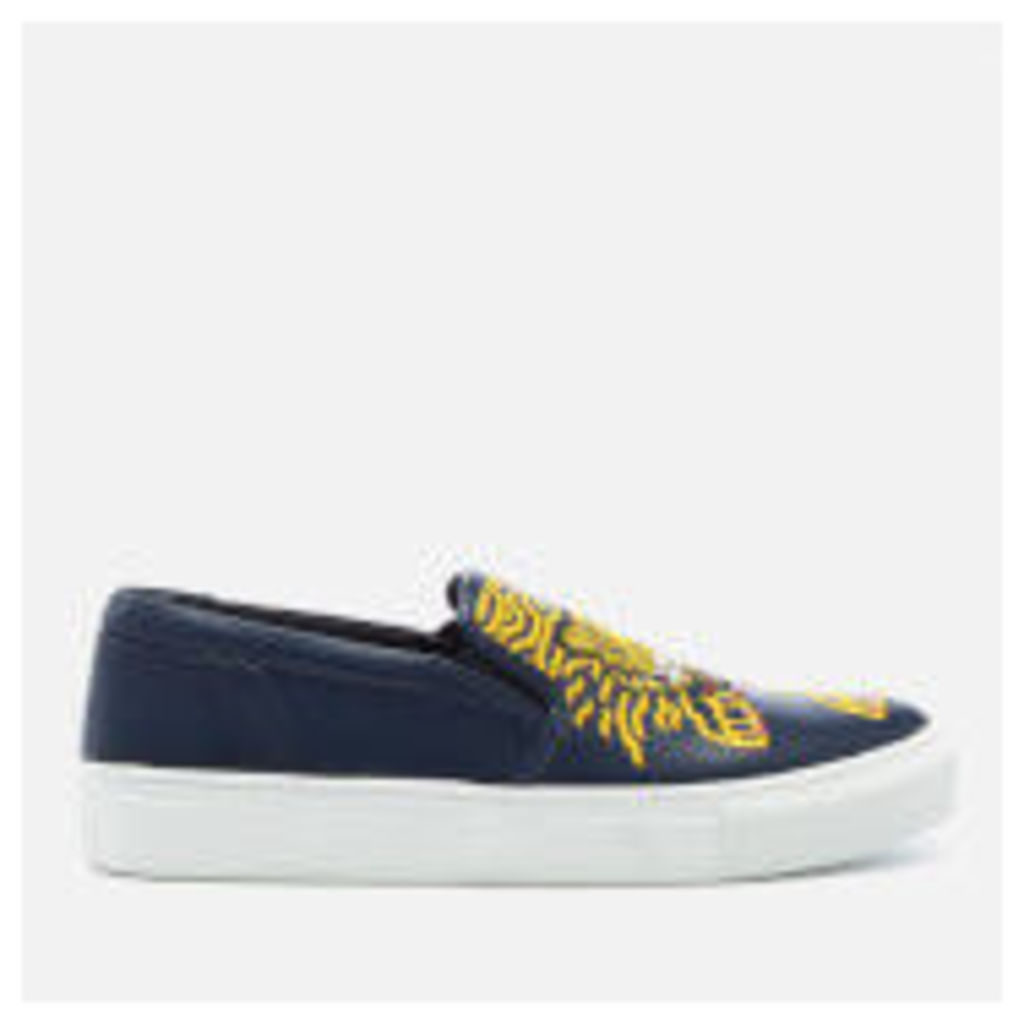 KENZO Women's K-Skate Slip On Trainers - Navy Blue