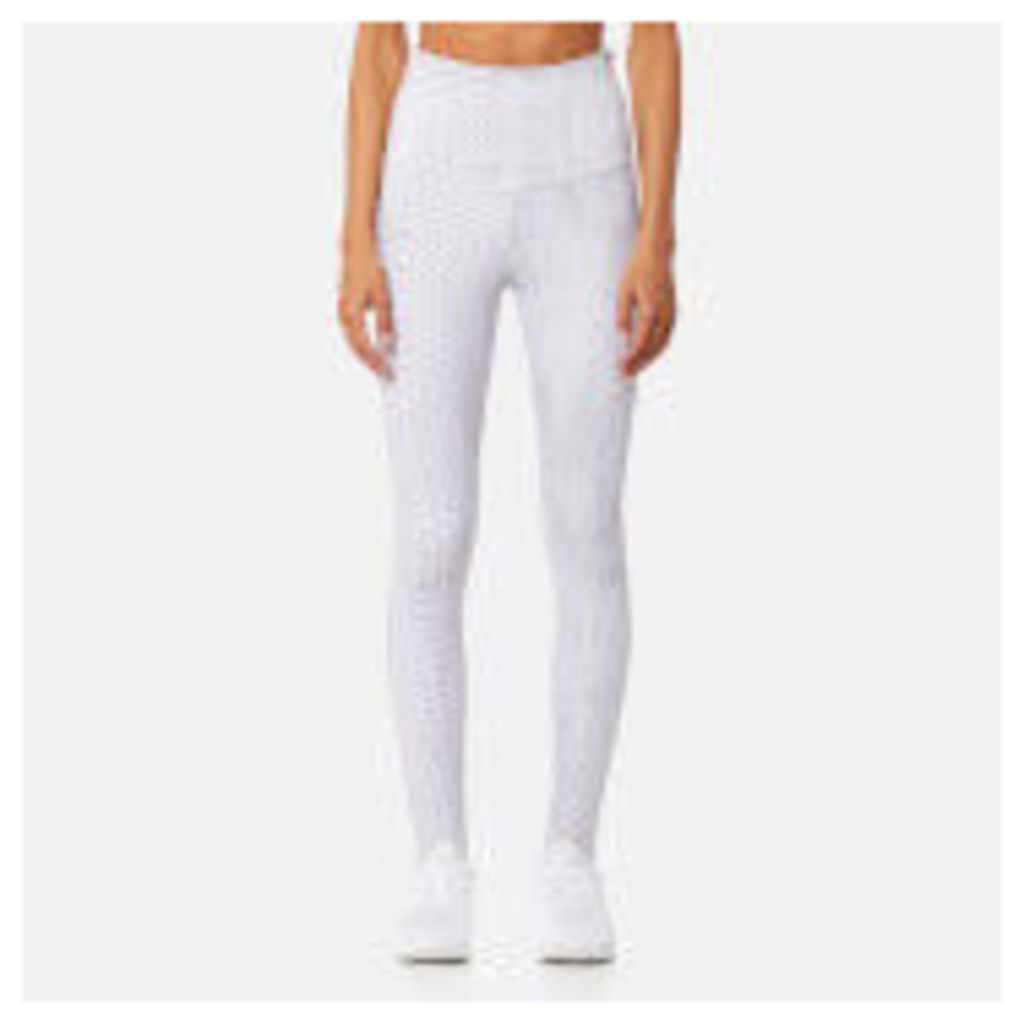Varley Women's Oak Stirrup Tight - White Snake