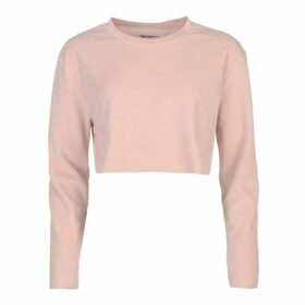 SportFX Velour Cropped Sweater