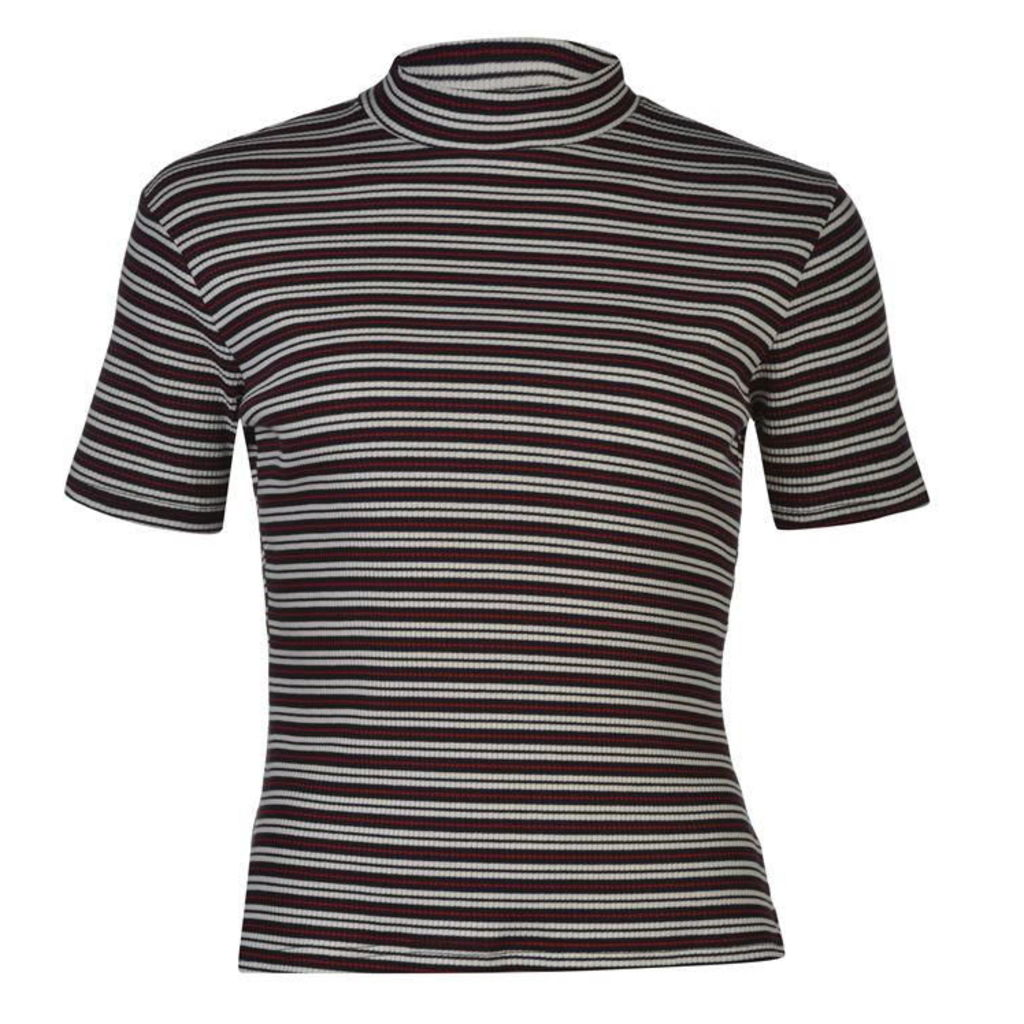 SoulCal All Over Stripe Top Ladies