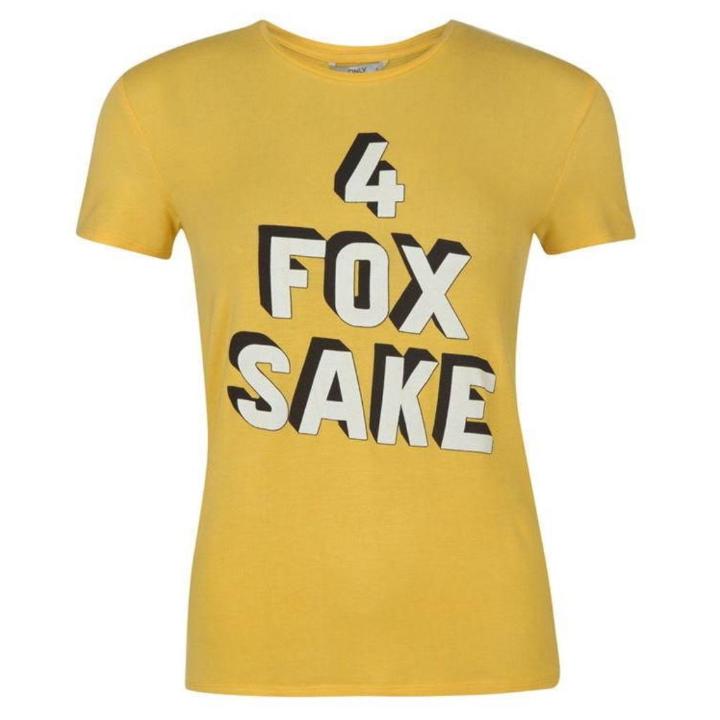 Only Da Hearts Fox T Shirt