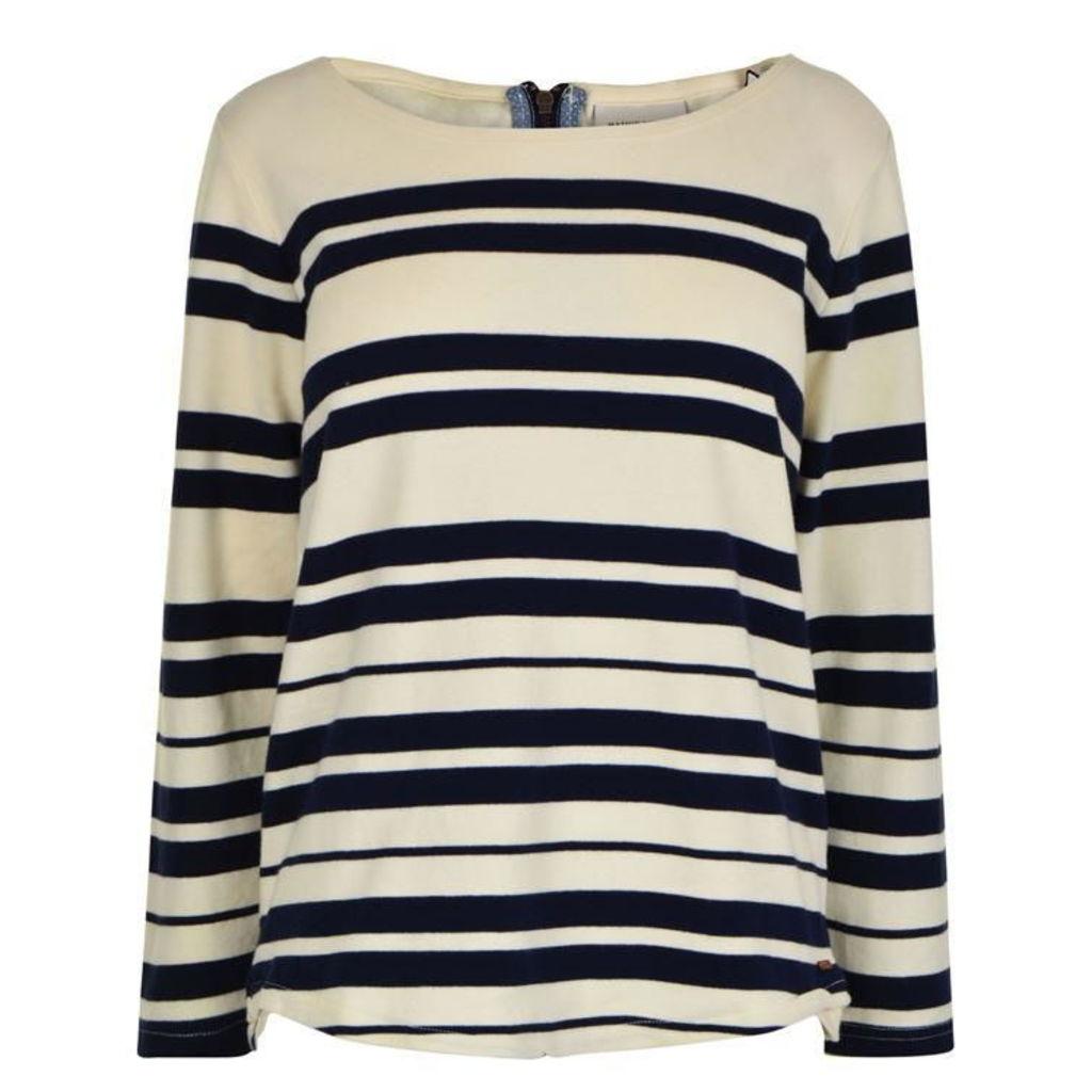 MAISON SCOTCH Breton Stripe T Shirt