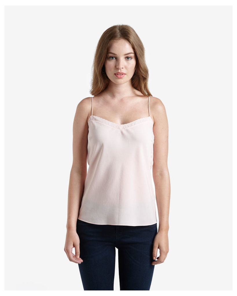 Ted Baker Scalloped edge cami Pink