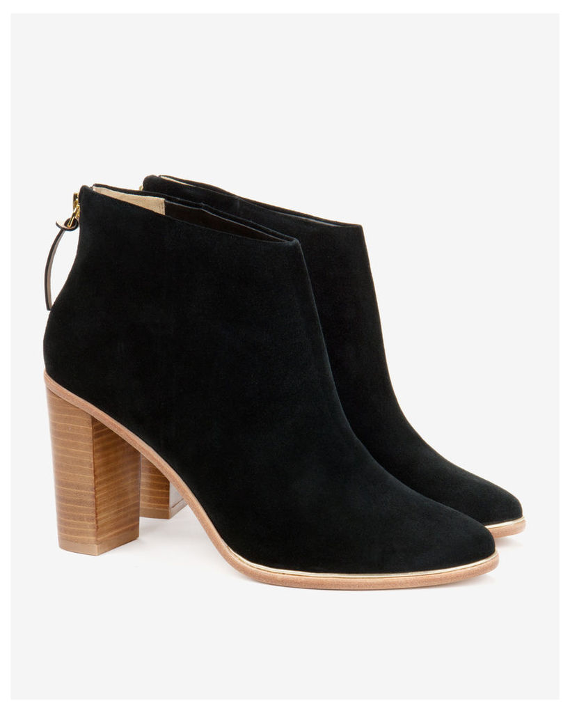 Ted Baker Leather ankle boots Jet
