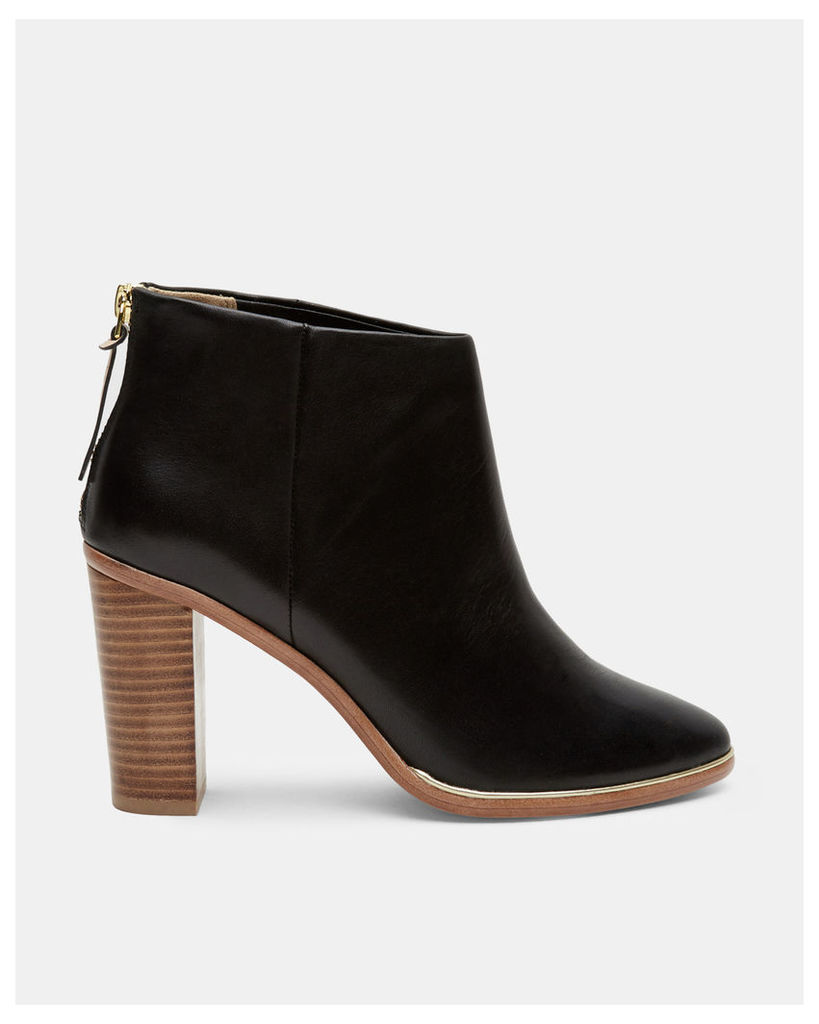 Ted Baker Leather ankle boots Black