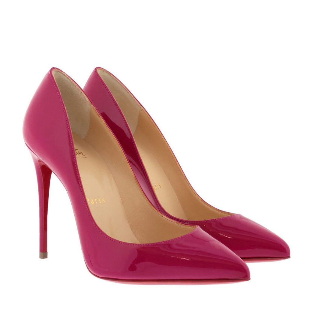 Christian Louboutin Pumps - Pigalle Follies 100 Patent Pump Ultra Rose - in magenta - Pumps for ladies
