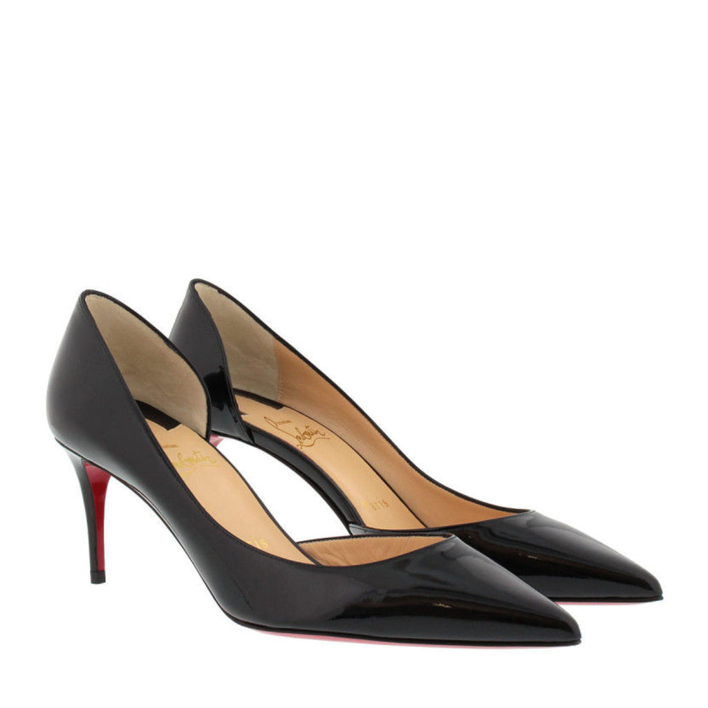 Christian Louboutin Pumps - Iriza 70 Patent Sparkling Black - in red, black - Pumps for ladies