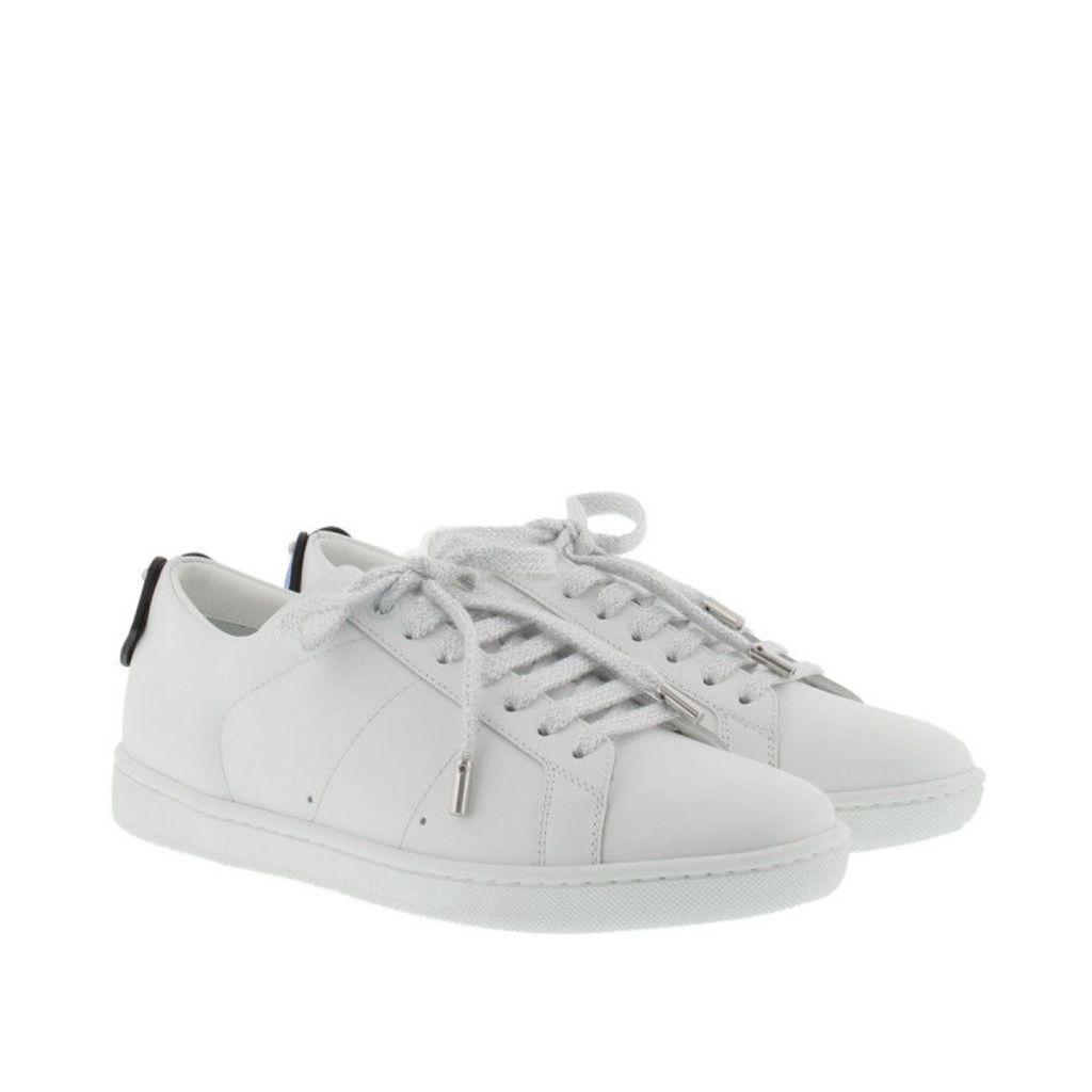 Saint Laurent Sneakers - Lips Sneakers Low White/Blu/Red - in white - Sneakers for ladies