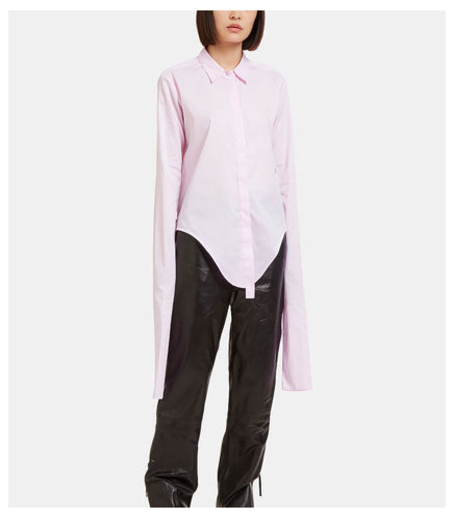 Infinity Sleeve Poplin Shirt