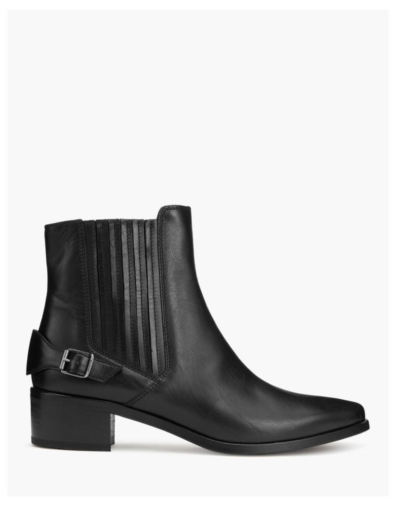 Belstaff Alloway Short Boots Black