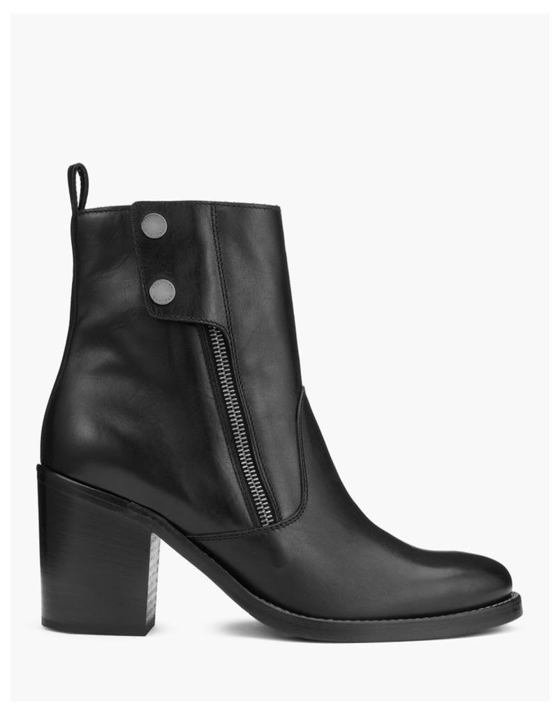 Belstaff Dursley Heeled Boots Black