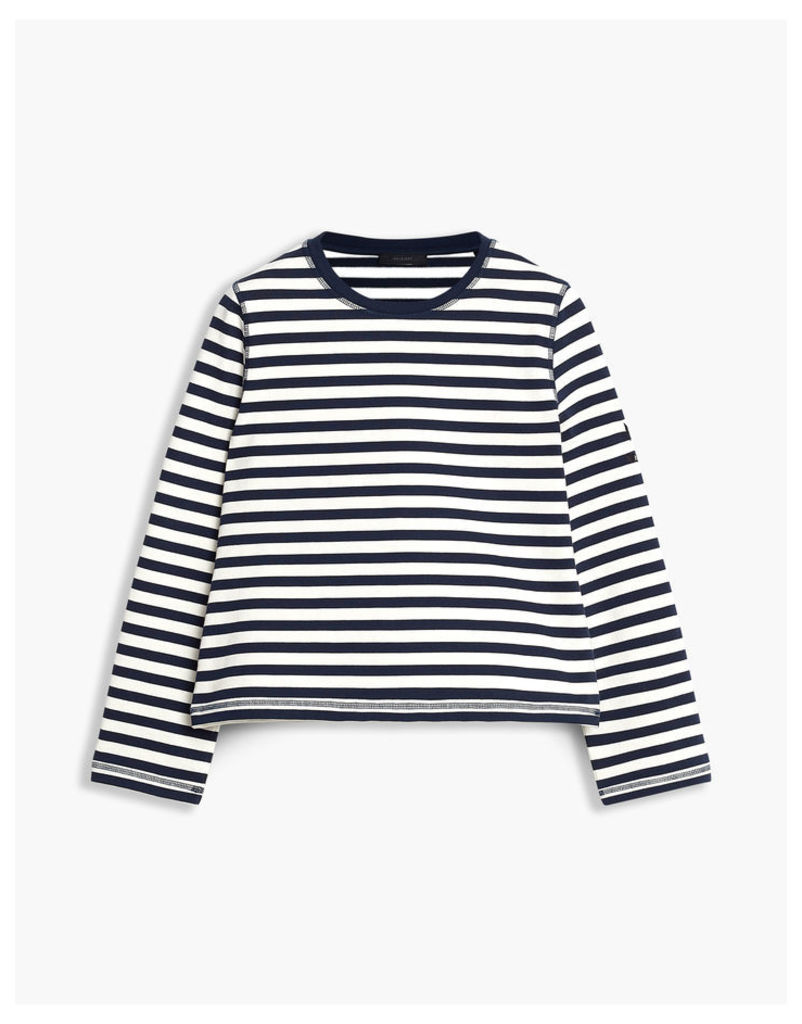 Belstaff Christina Striped T-Shirt Blue