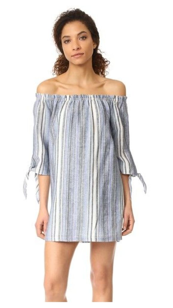 Maven West Nikki Tie Knot Off the Shoulder Dress