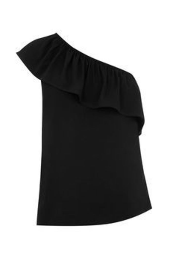ONE SHOULDER VISCOSE TOP