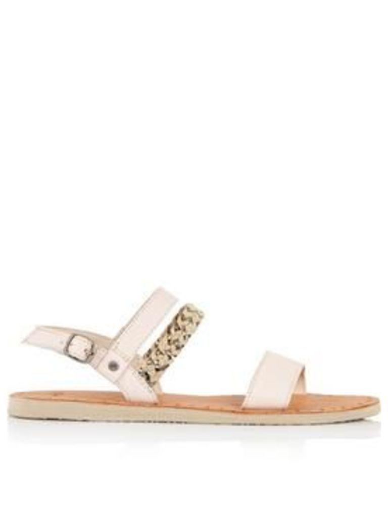 Ugg Elin Braided Sandals - Ivory