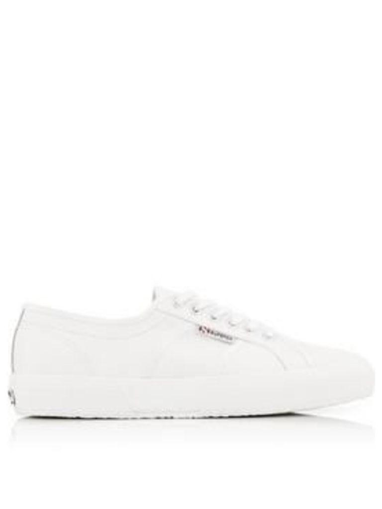 Superga 2750 Leather Plimsolls - White