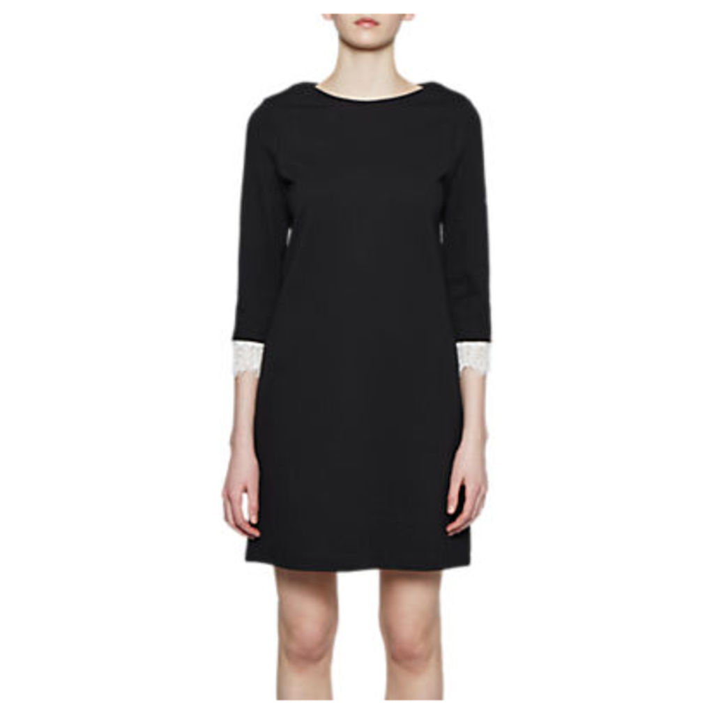 French Connection Lula Stretch Tunic Dress, Black
