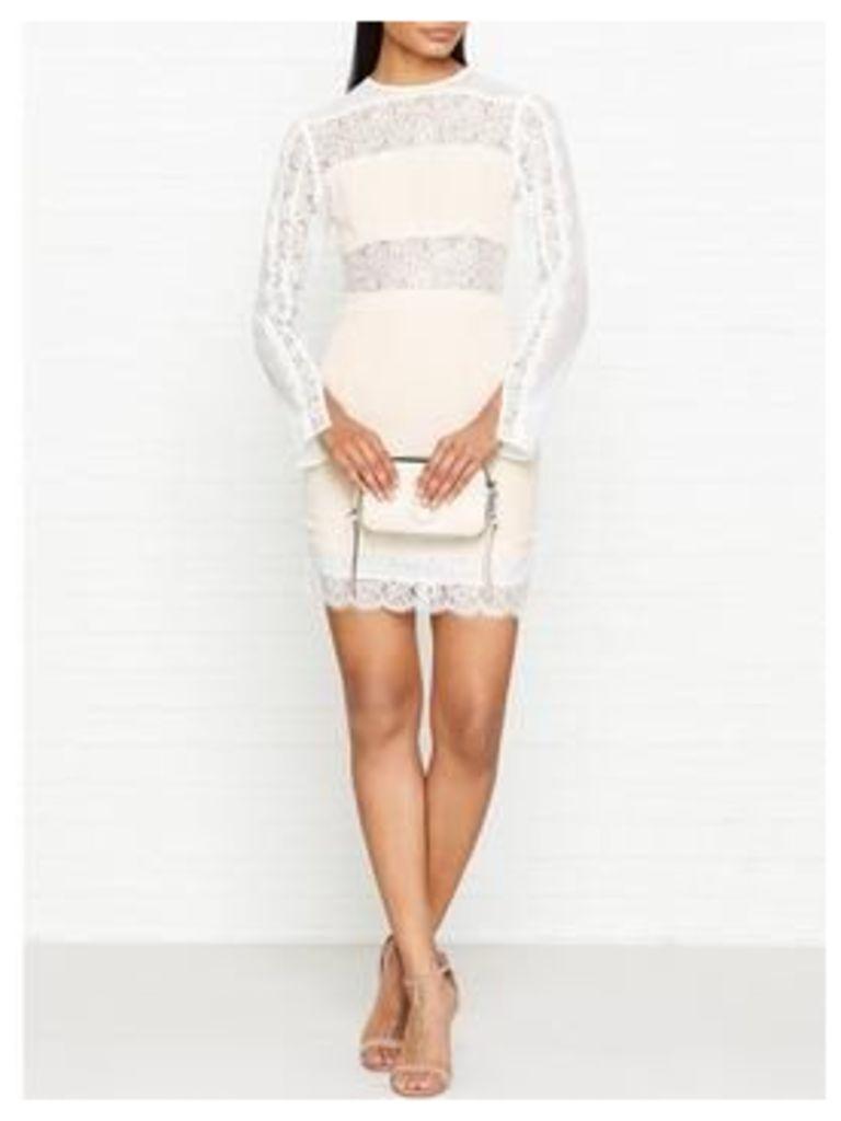 Keepsake Starstruck Long Sleeve Dress - Ivory