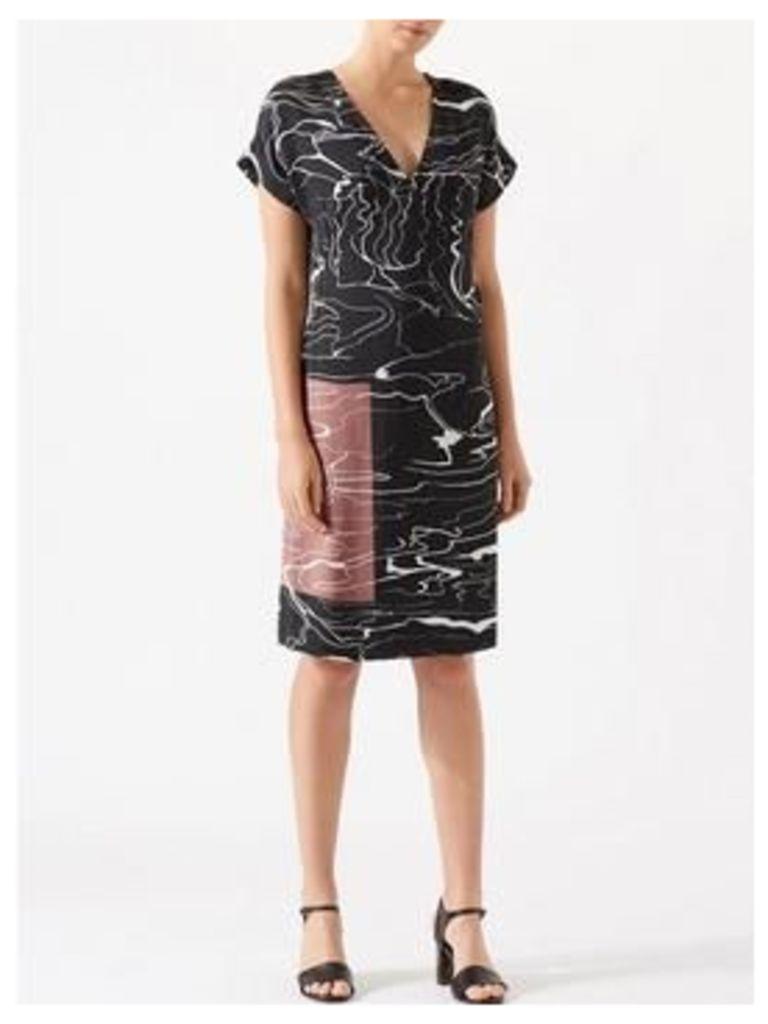 Jigsaw Waterpool T-Shirt Dress - Rock