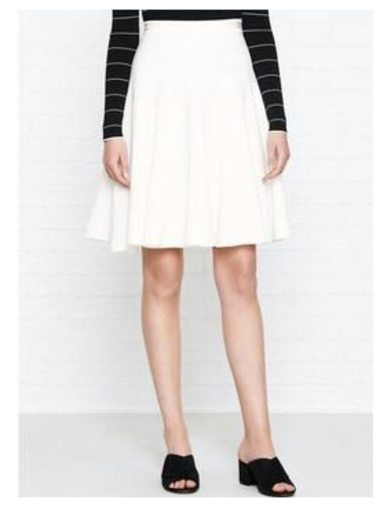 Karen Millen Fluid Skirt - Ivory