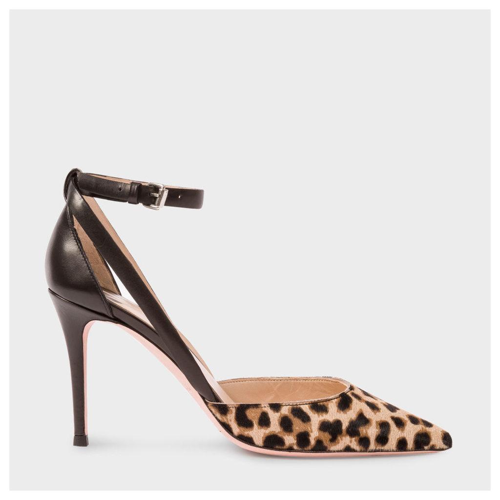 Women's Leopard Print Calf Hair 'Naomi' Shoes