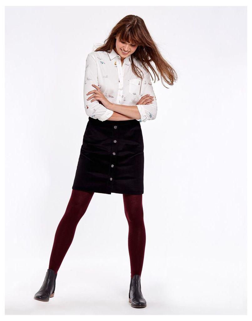 Black Harper Skirt  Size 12   Joules UK