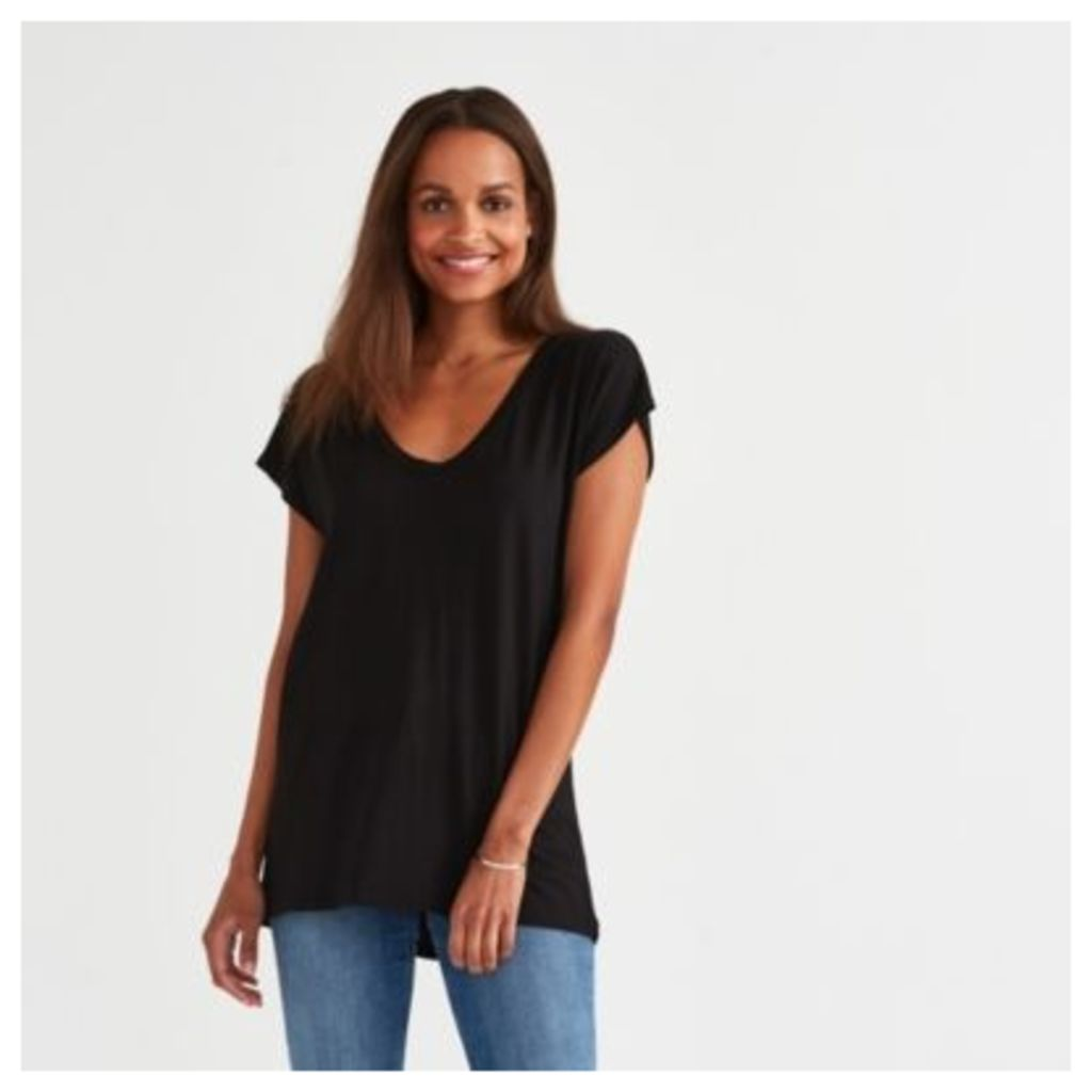 Rib Back T-Shirt