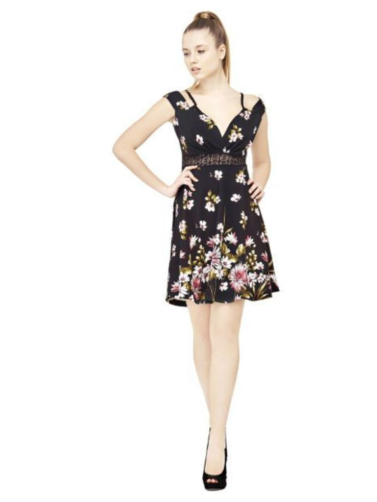 Guess Floral Print Dress