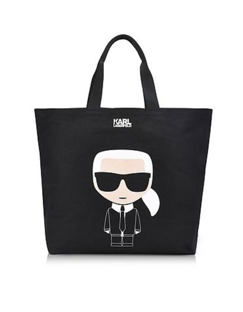 Karl Lagerfeld - K/Ikonik Canvas Shopper Bag