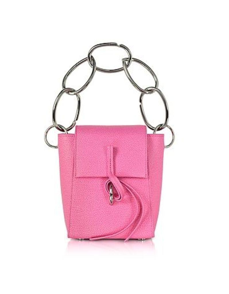 3.1 Phillip Lim - Leigh Small Top Handle Crossbody Bag w/Chain