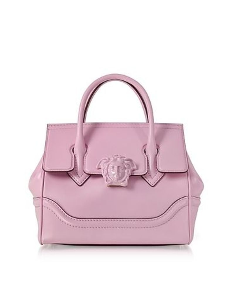 Versace - Palazzo Empire Pink Leather Satchel Bag