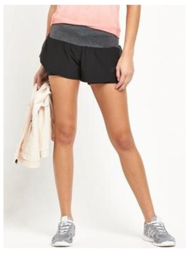 adidas Running Short, Black, Size M, Women