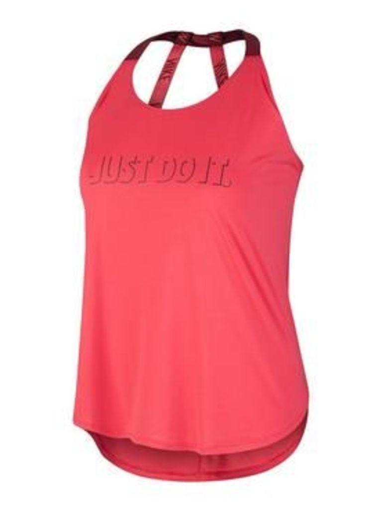 Nike Plus Size Breathe Graphic Tank, Red, Size 28-30=2X, Women